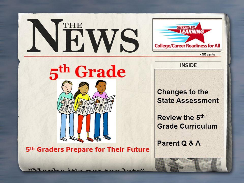 5th Graders Prepare for Their Future