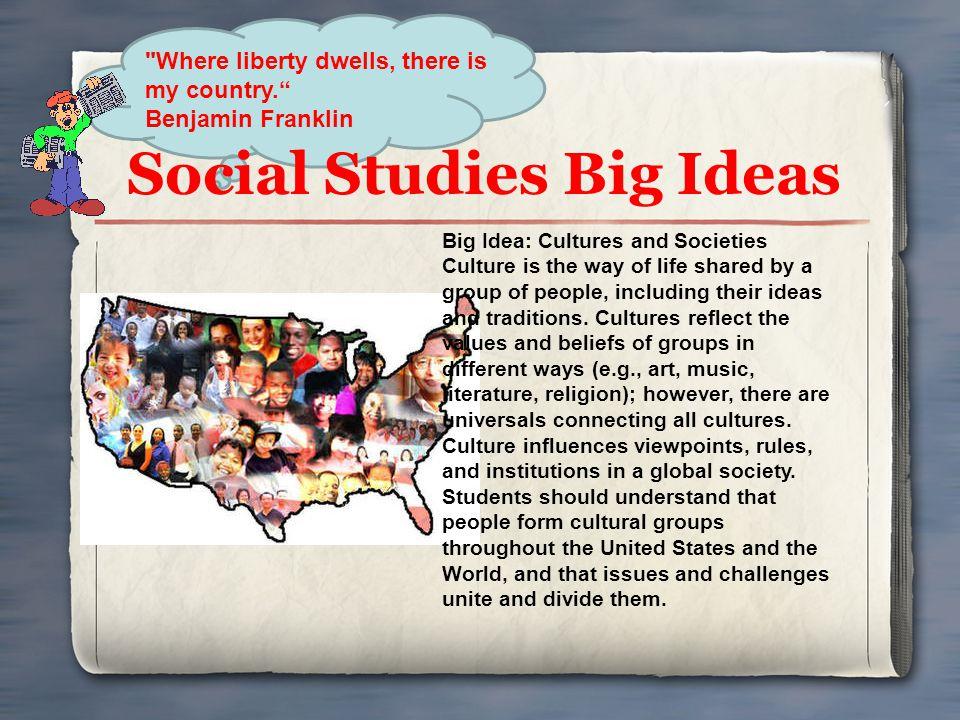 Social Studies Big Ideas