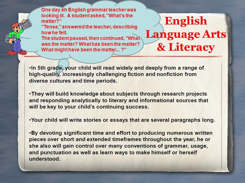 English Language Arts & Literacy