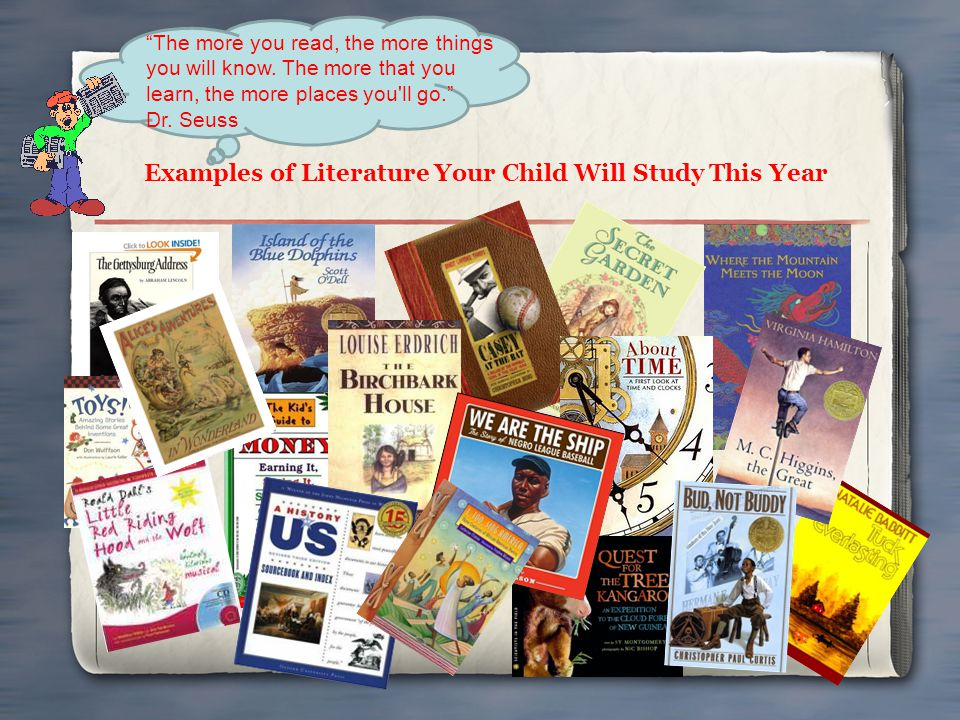 Examples of Literature Your Child Will Study This Year