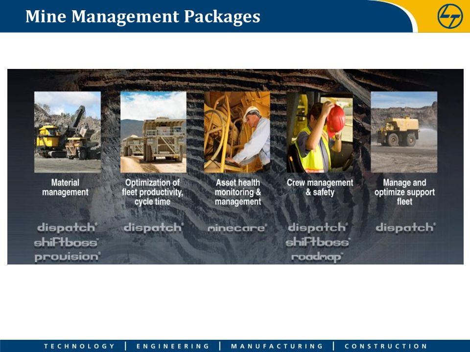 Mine Management Packages