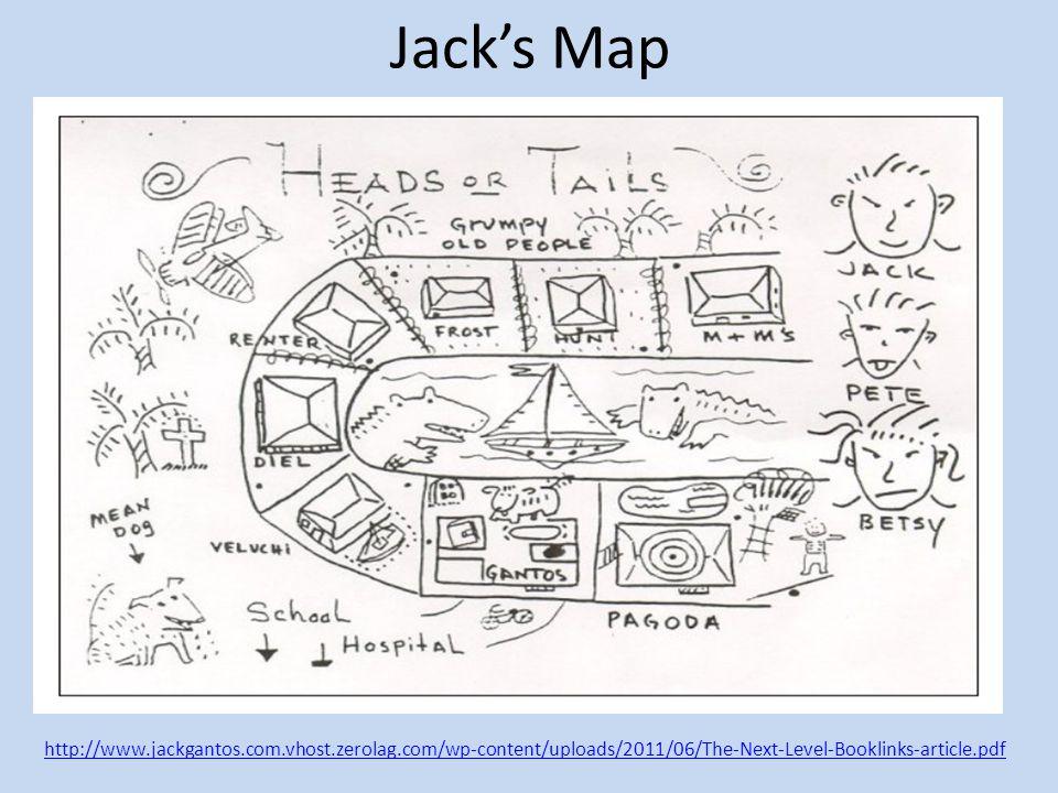 Jack's Map http://www.jackgantos.com.vhost.zerolag.com/wp-content/uploads/2011/06/The-Next-Level-Booklinks-article.pdf.