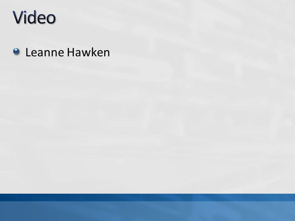 Video Leanne Hawken