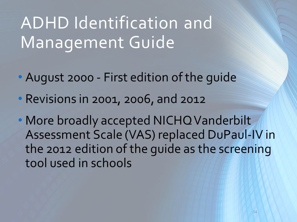 ADHD Identification and Management Guide