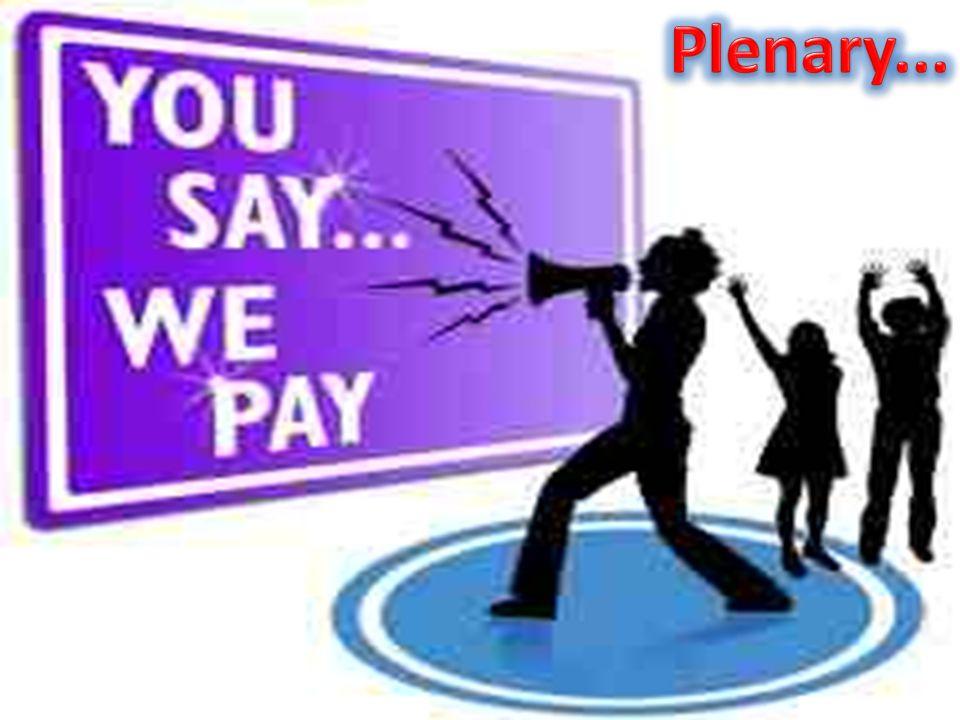 Plenary...