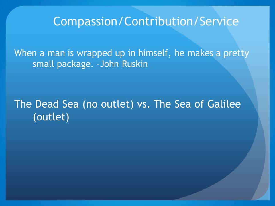 Compassion/Contribution/Service