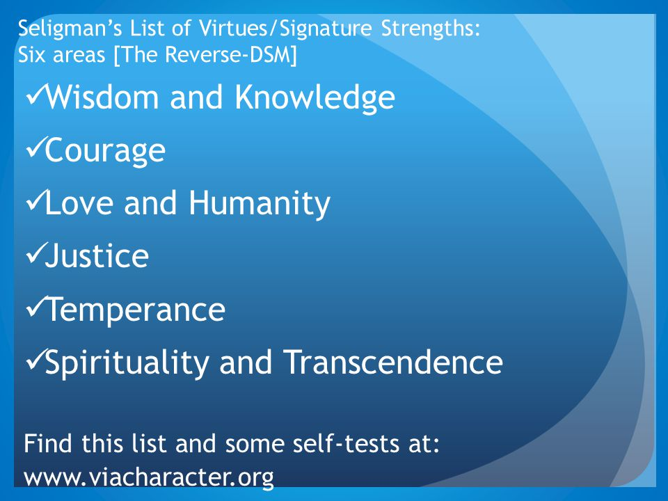 Spirituality and Transcendence