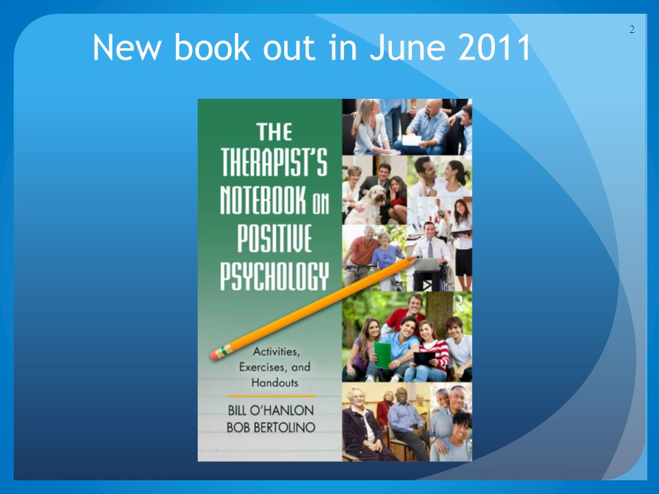 New book out in June 2011 2