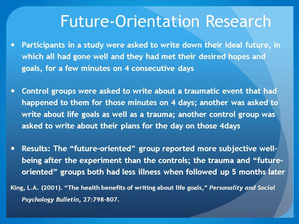 Future-Orientation Research