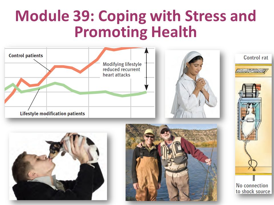 Module 39: Coping with Stress and Promoting Health