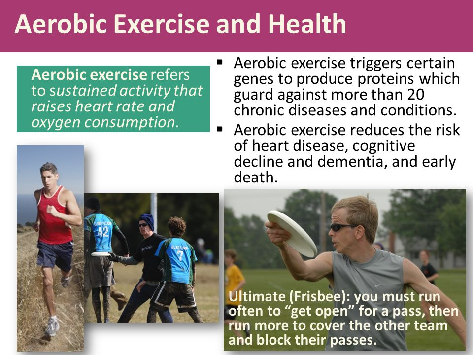 Aerobic Exercise and Health