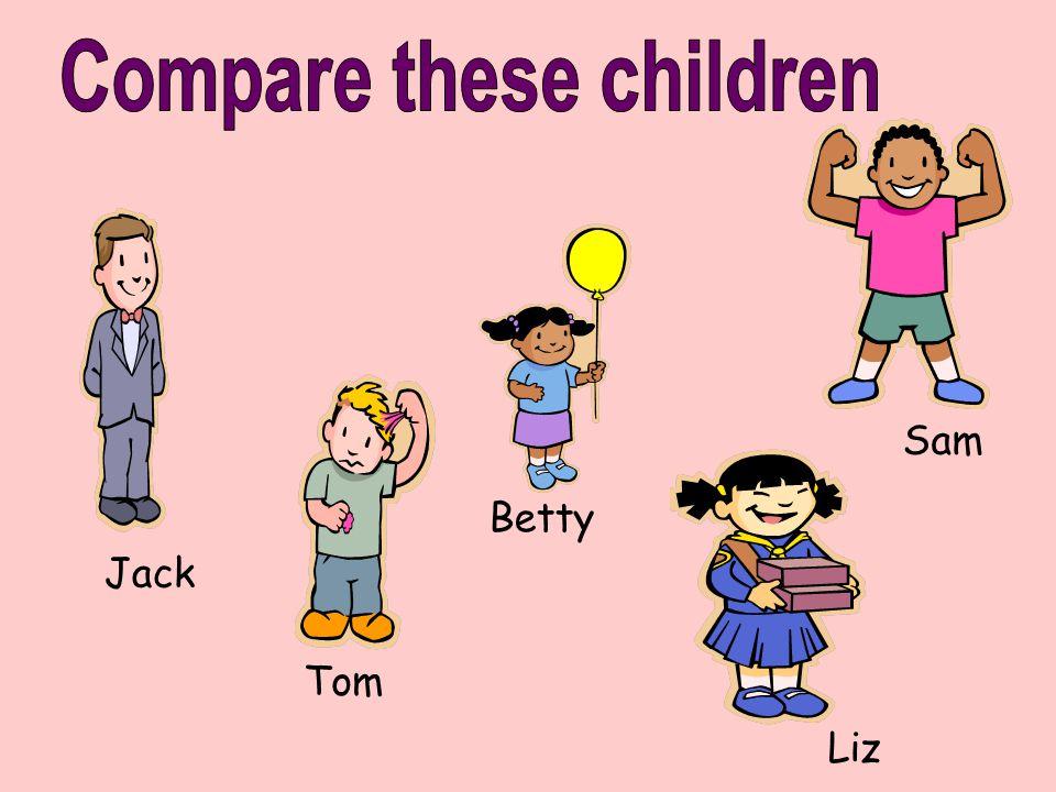 Compare these children