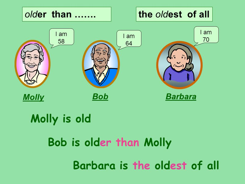 Barbara is the oldest of all