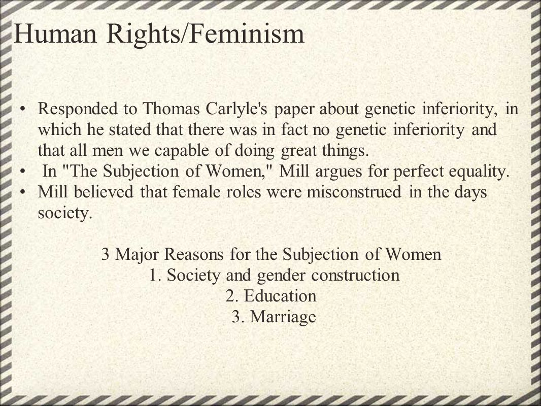 Human Rights/Feminism