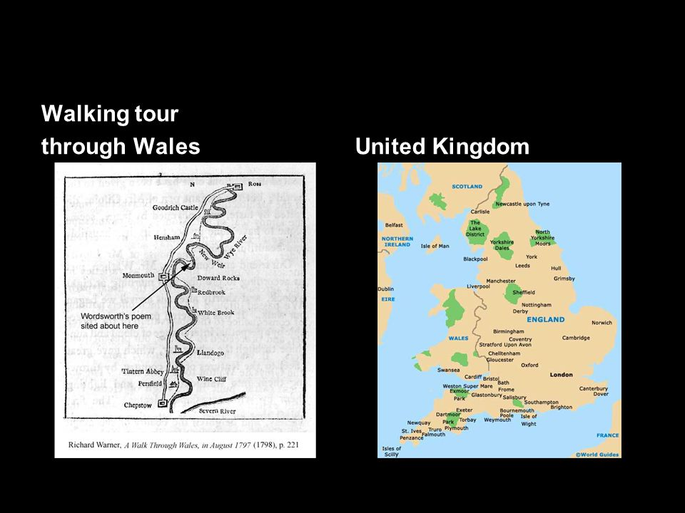Walking tour through Wales United Kingdom