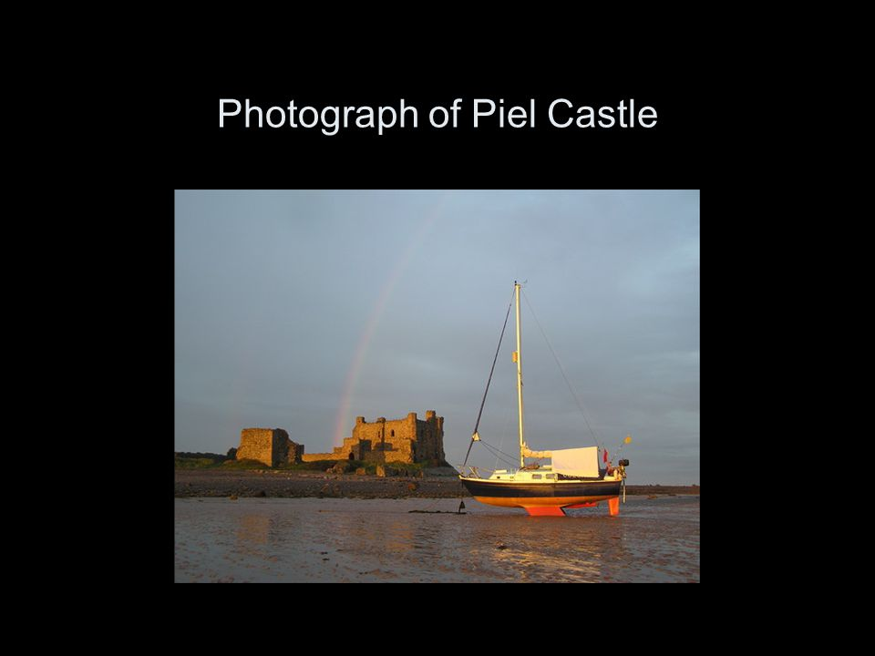 Photograph of Piel Castle