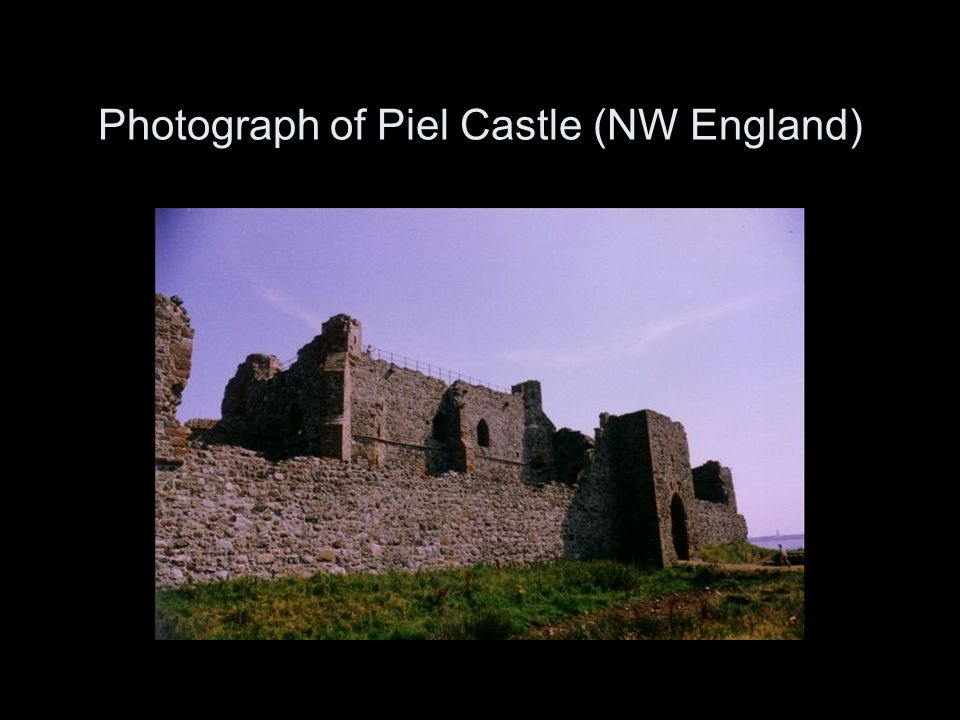 Photograph of Piel Castle (NW England)