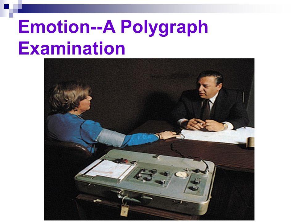 Emotion--A Polygraph Examination