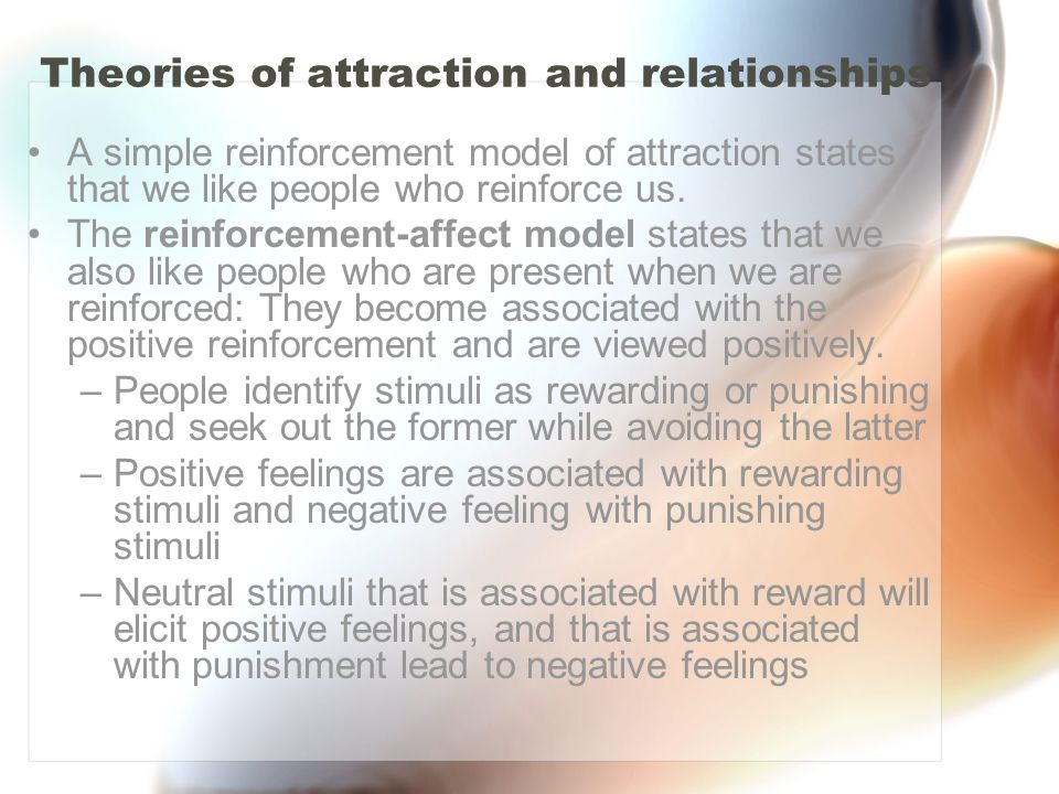 Theories of attraction and relationships