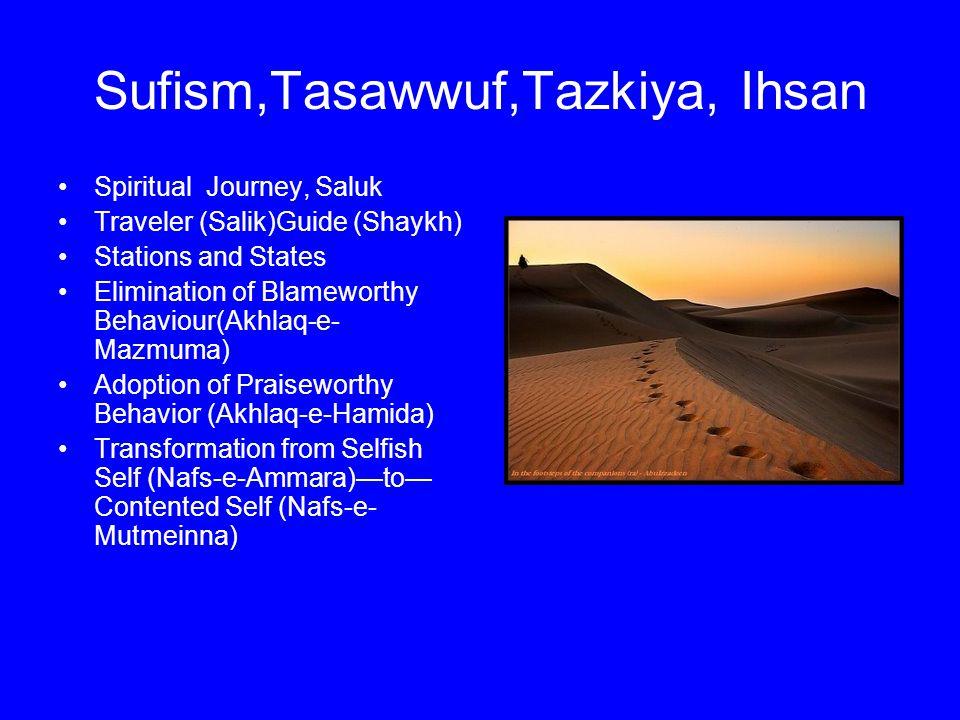 Sufism,Tasawwuf,Tazkiya, Ihsan