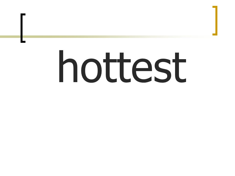 hottest