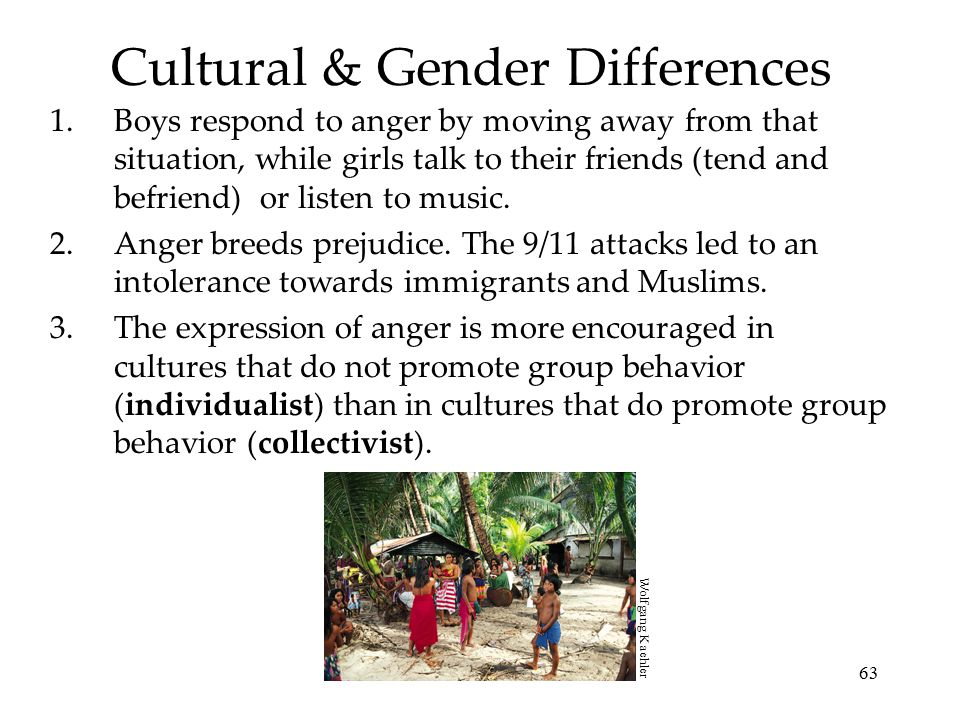 Cultural & Gender Differences