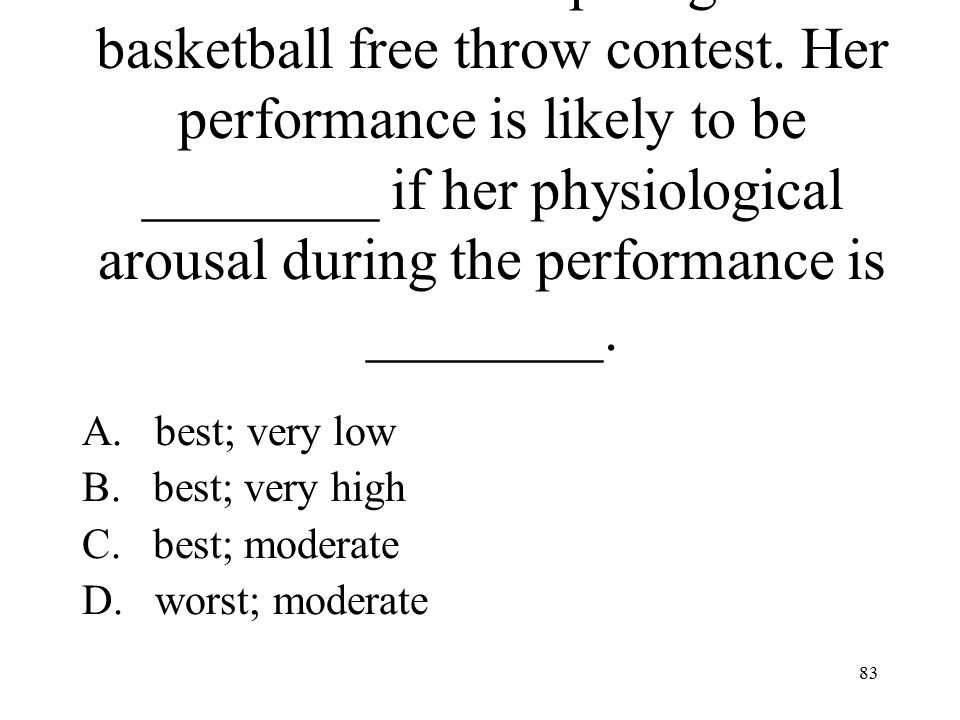 Julie will be competing in a basketball free throw contest