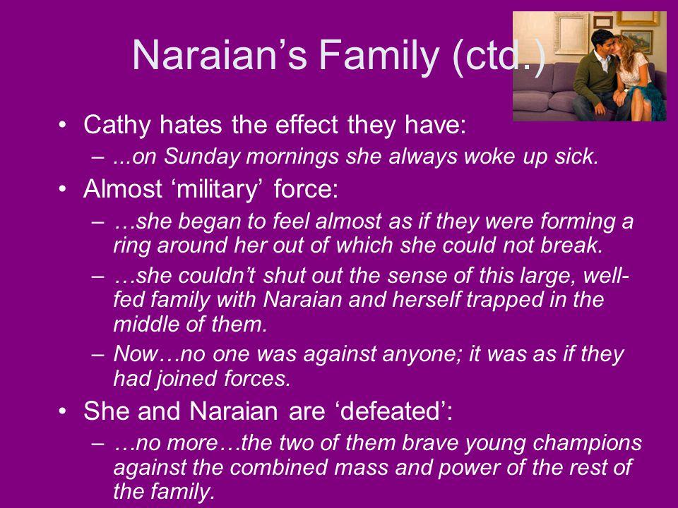 Naraian's Family (ctd.)