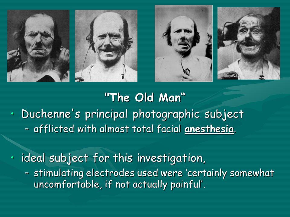 Duchenne s principal photographic subject