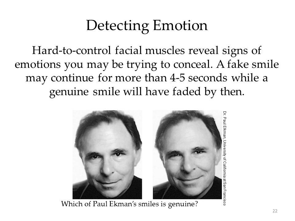 Detecting Emotion