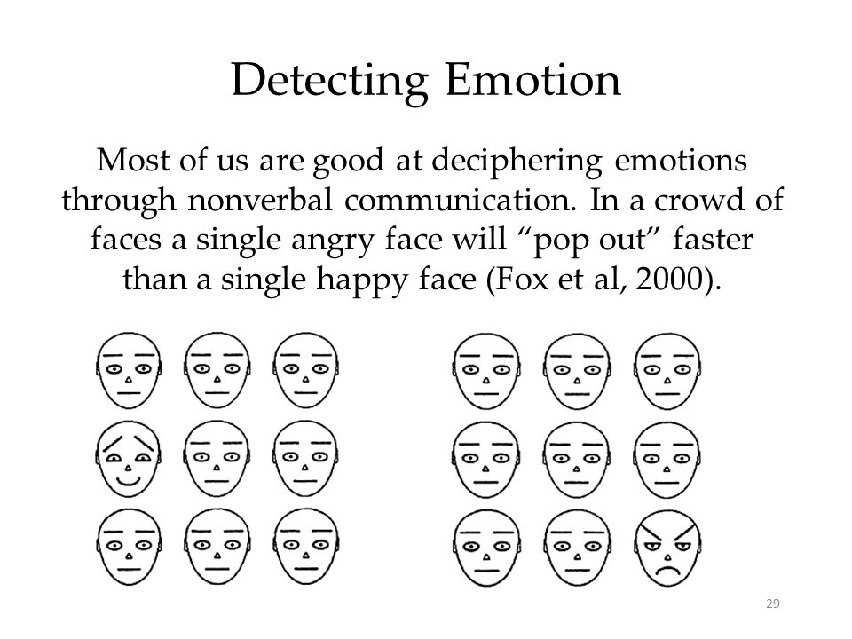 Detecting Emotion