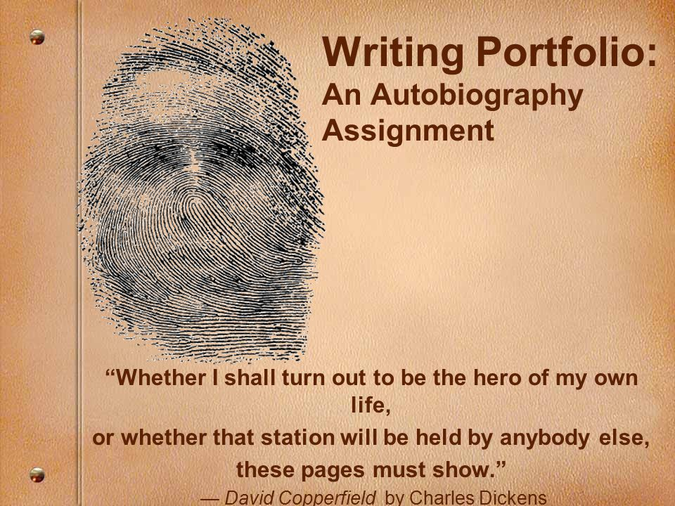Writing My Life Story - Tips on Autobiography, Life