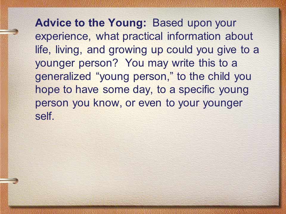 assignment 023 understand child and young person As the number of randomised controlled trials of medicines for children increases,  the authors are not aware of any qualitative studies that report the experience of being asked to consider a randomised controlled trial for a child,  the available evidence indicates that parents negotiate this by allowing the young person to have their say.
