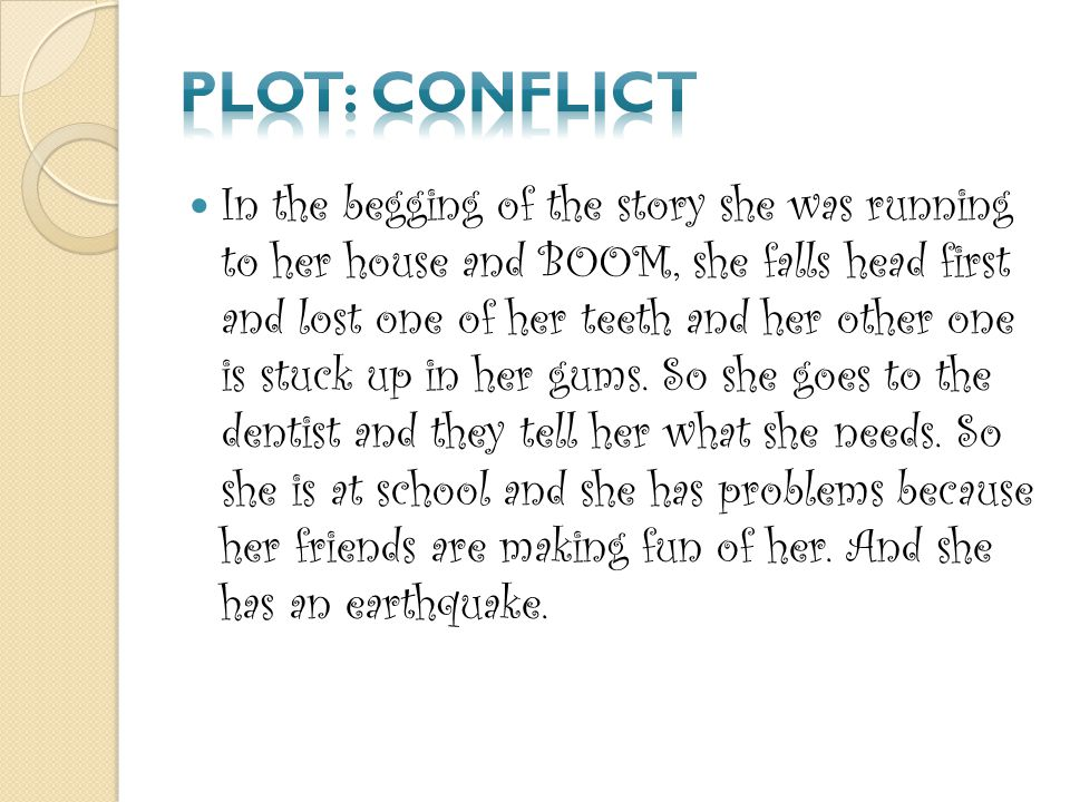 Plot: Conflict