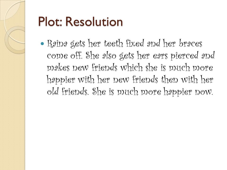 Plot: Resolution