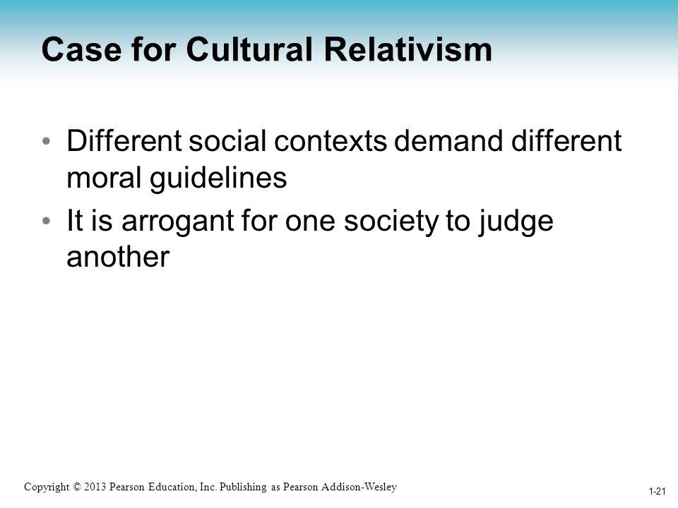 Case for Cultural Relativism