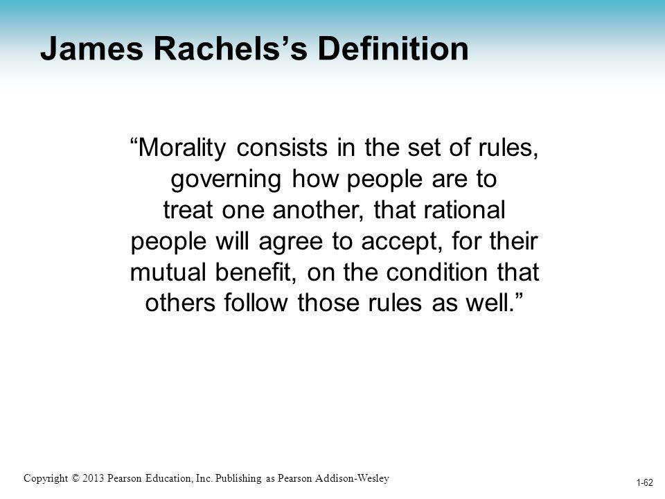 James Rachels's Definition