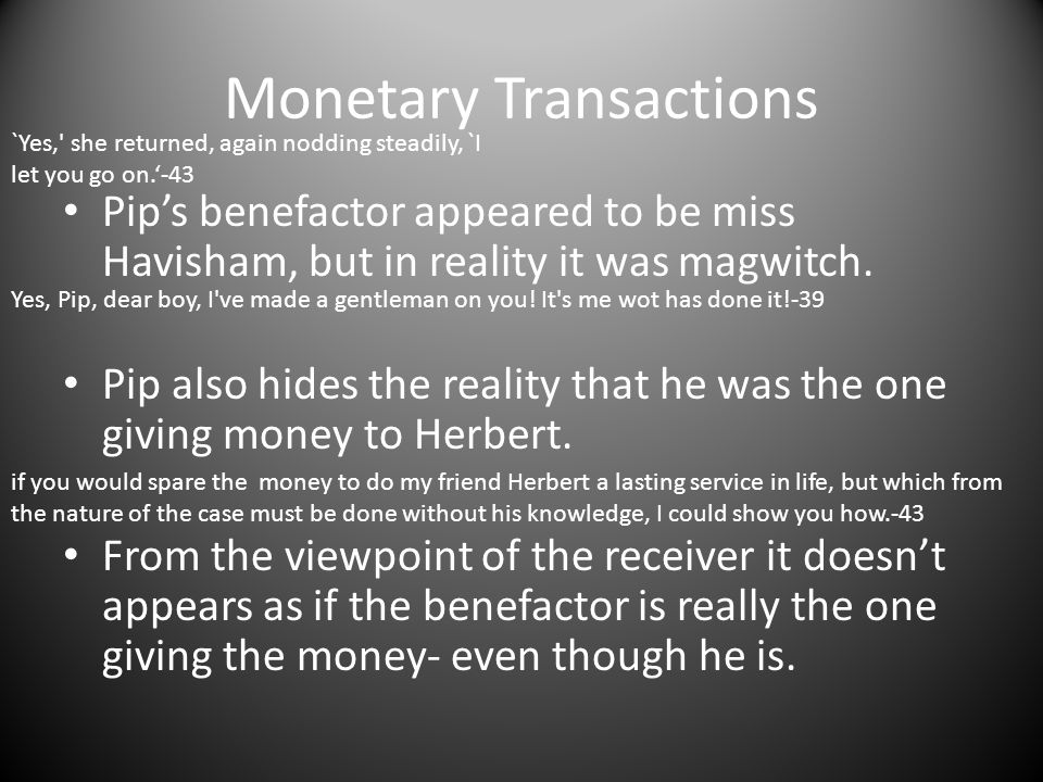 Monetary Transactions