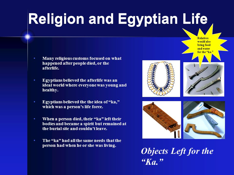 Religion and Egyptian Life