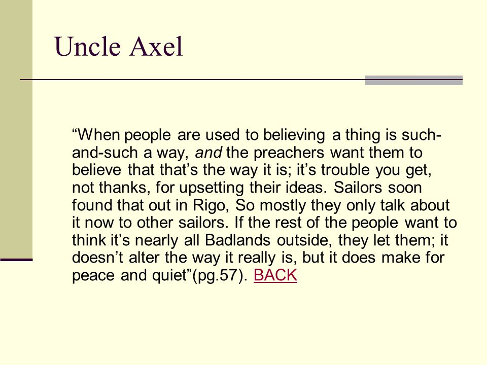 Uncle Axel