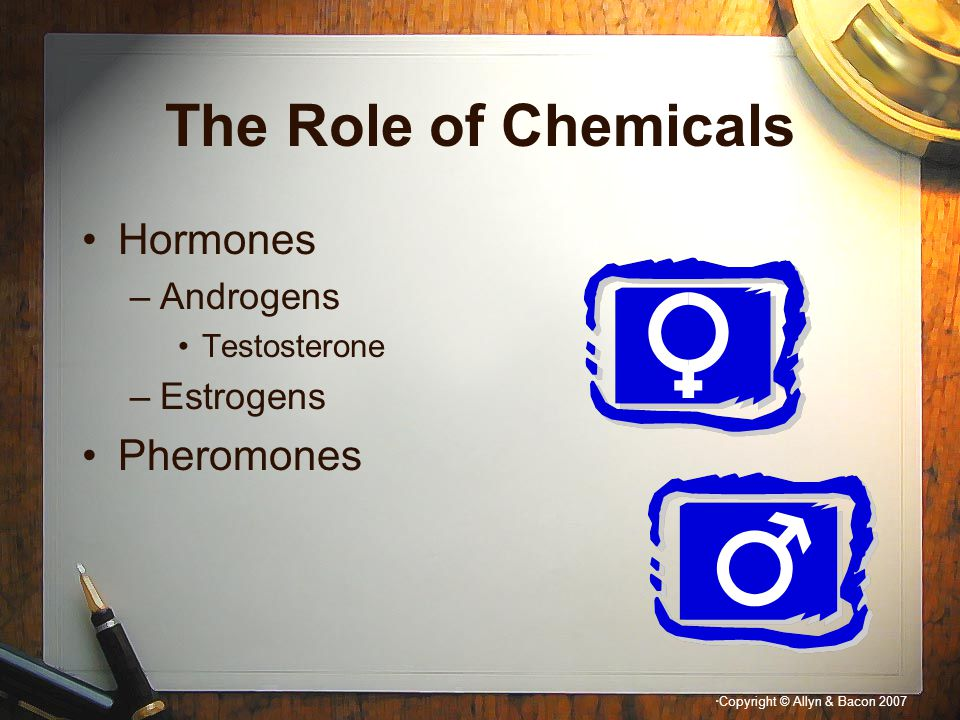 The Role of Chemicals Hormones Pheromones Androgens Estrogens