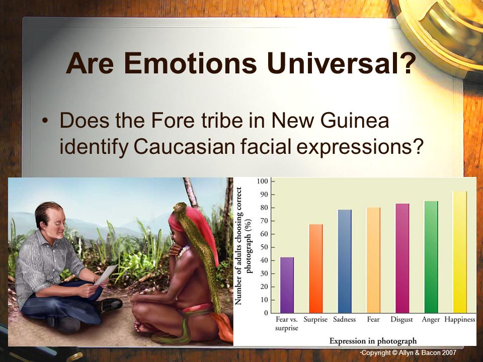 Are Emotions Universal