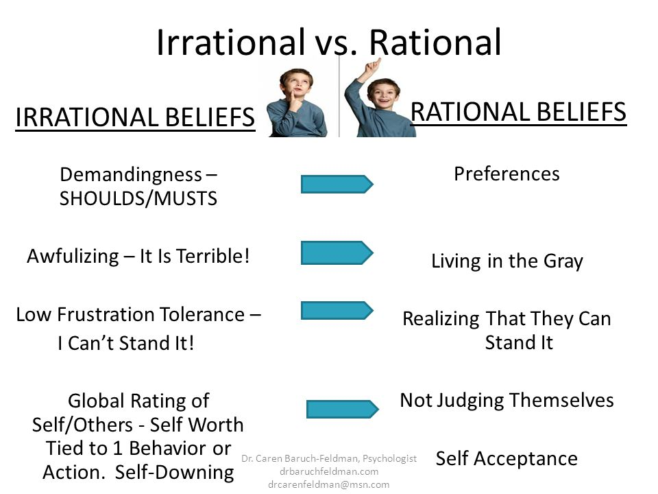 Irrational vs. Rational