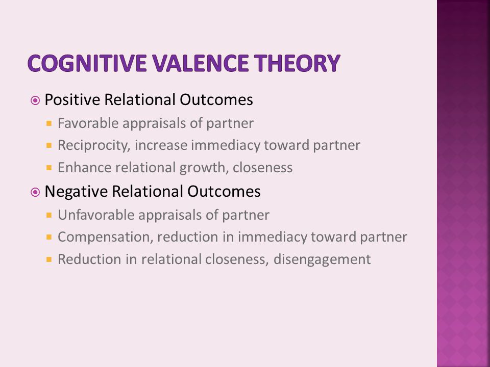 Cognitive Valence Theory