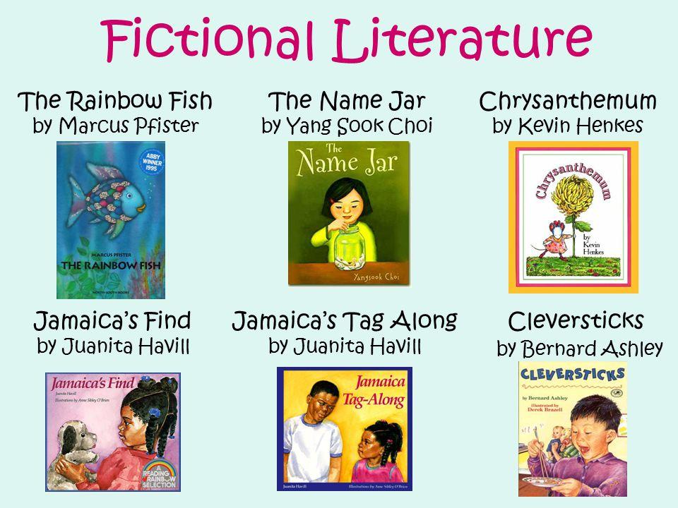 Fictional Literature The Rainbow Fish The Name Jar Chrysanthemum