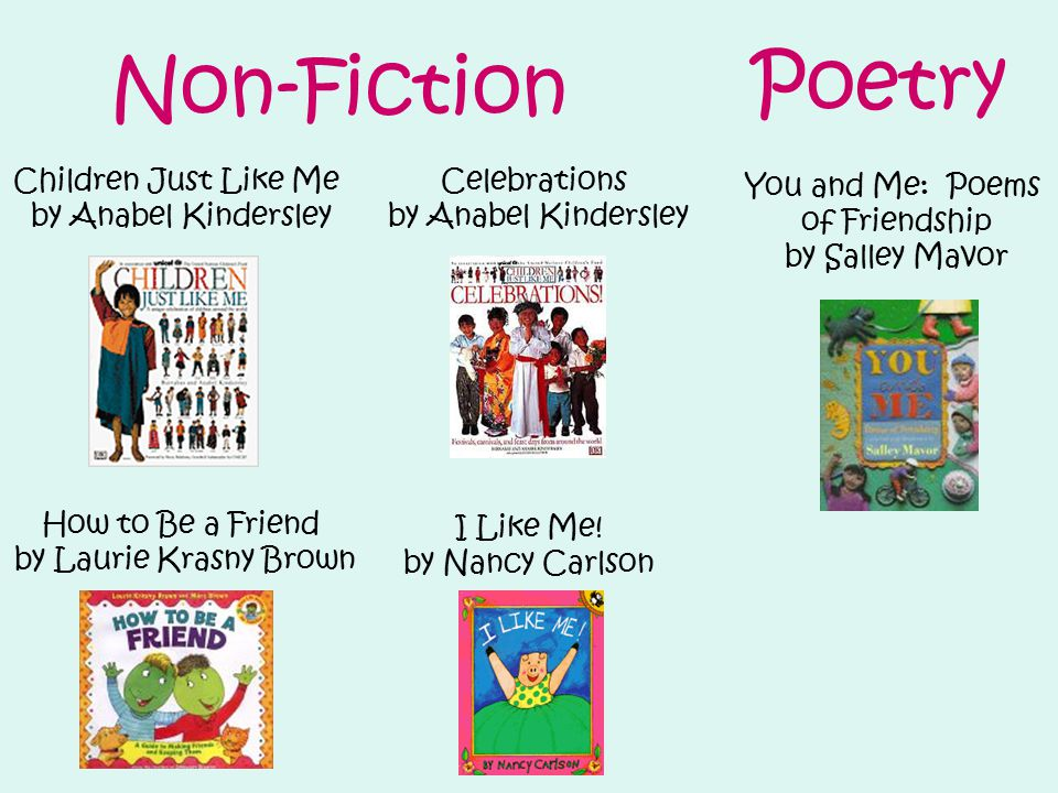 Non-Fiction Poetry You and Me: Poems of Friendship by Salley Mavor