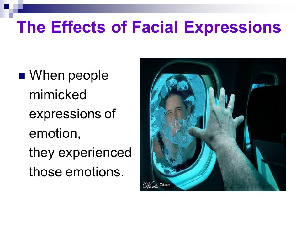 The Effects of Facial Expressions