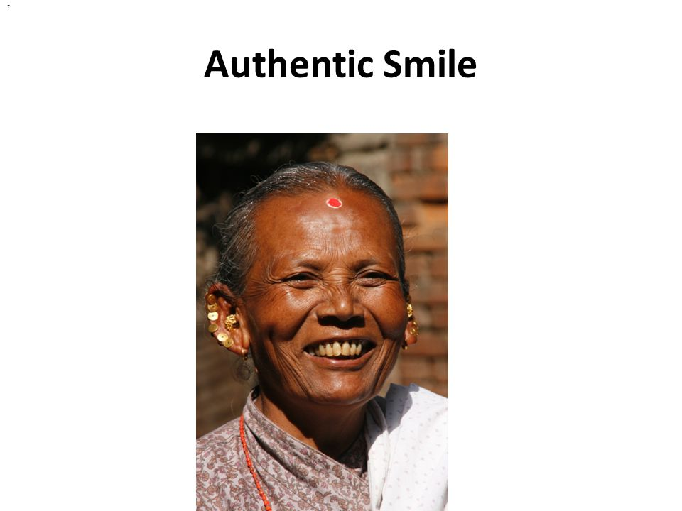 Authentic Smile