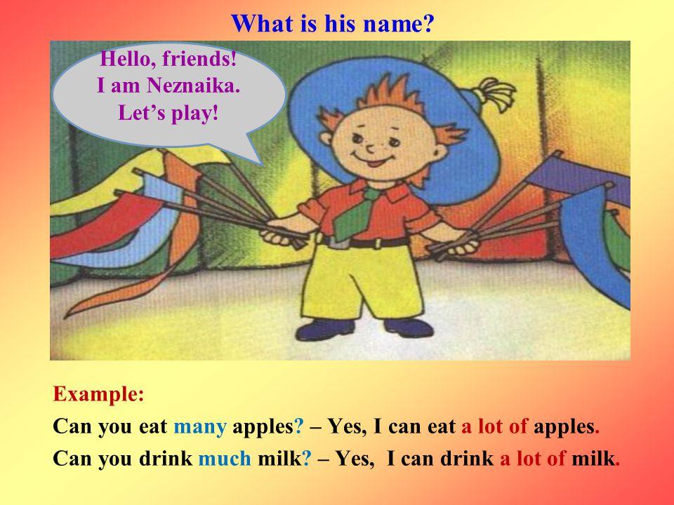 I am Neznaika. Let's play!