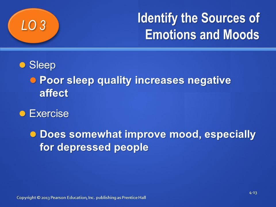 Identify the Sources of Emotions and Moods